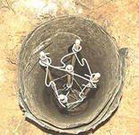 Армированная труба из рубероида.