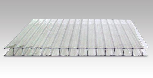 Фото сотового поликарбоната толщиной в 6 мм.