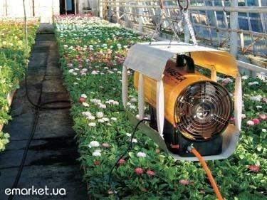 Видео отопление в теплице