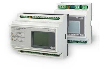 Пульт управления автоматическим поддержанием температуры