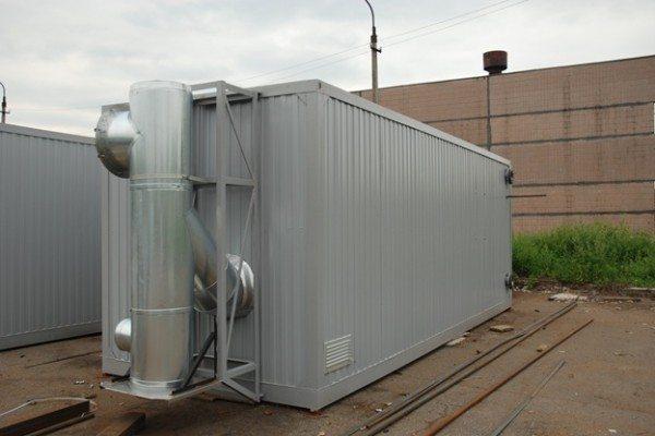Современная блочно-модульная газовая котельная.