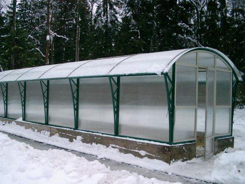 Конструкция арочной теплицы