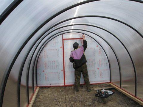 Теплоизоляция готовой конструкции – обязательный этап в работе