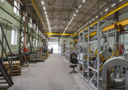 Цех по производству элементов каркаса из оцинкованной стали