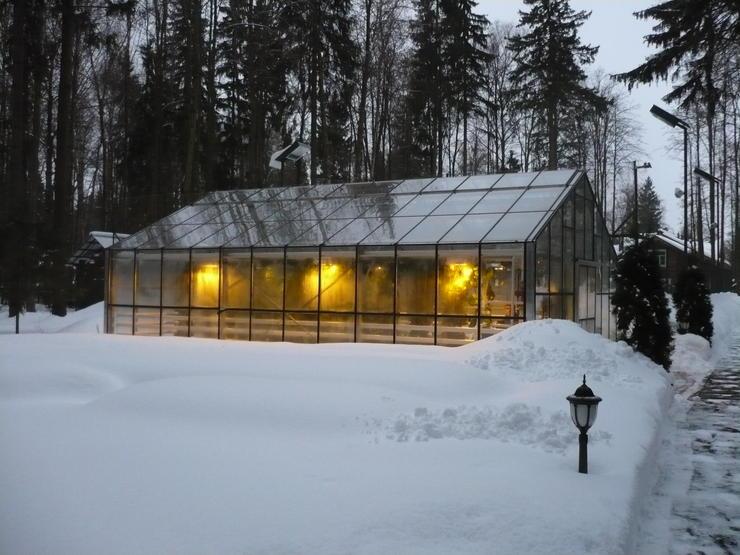 Как построить зимние теплицу своими руками