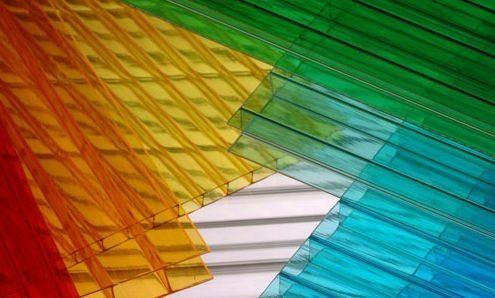 Поликарбонат в своем цветовом разнообразии