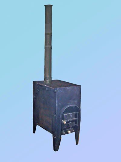 Буржуйка – еще один вариант обогрева теплицы