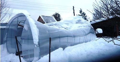 Изделие должно быть прочным – иначе оно не выдержит вес снега