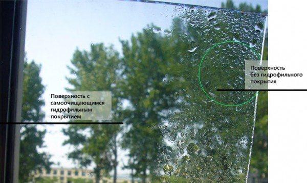 Как работает гидрофильное покрытие