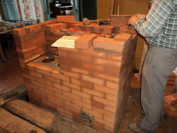 Кирпичная печь – еще один способ применения классического варианта