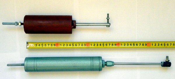 На данном фото вы можете увидеть готовые цилиндры. Они отличаются более высокой мощностью и надежностью
