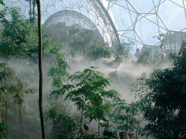 На фото «Eden Project».