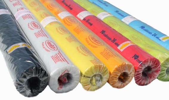 На фото представлена пленка с разной цветовой окраской