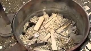 Печка, которая может работать на опилках