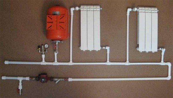 При организации водяного отопления необходимо учитывать все особенности данной системы и не забывать о таких вещах, как расширительный бачек и выпускной воздушный клапан