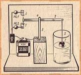 Самый элементарный термодатчик.
