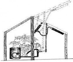 Схема одного из вариантов гидравлического механизма.