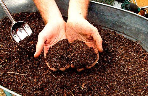 Удобрение для почвы.