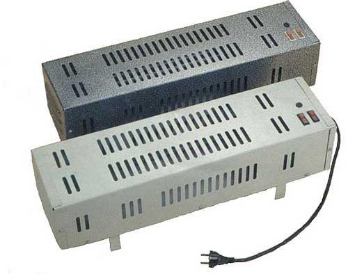 В качестве электрического обогрева можно использовать простые комнатные обогреватели