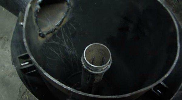 Воздуховод из трубы 100 мм