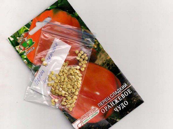 Качественные семена перцев должны иметь желтоватый оттенок.