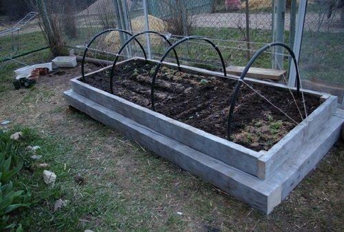 Как посадить огурцы в теплице для высокой урожайности – устроить компостную грядку