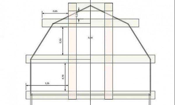 Общая схема со всеми размерами