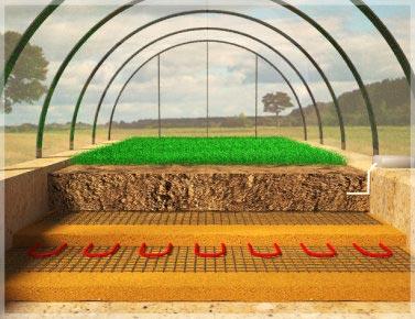 Подогрев почвы значительно повысит урожайность предприятия