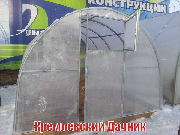 На фото – «Кремлевский Дачник» на фундаменте из бруса
