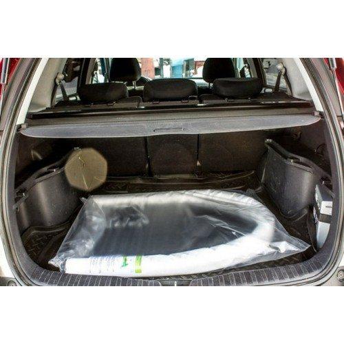 «Подснежник» помещается в багажнике.