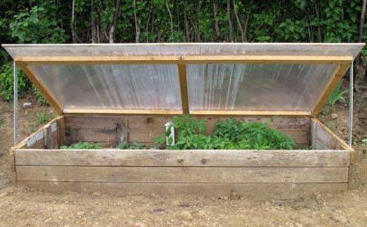 Простейший вариант изготовления, который не предполагает использование деревянных досок