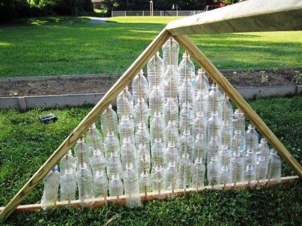 Теплица-пирамидка