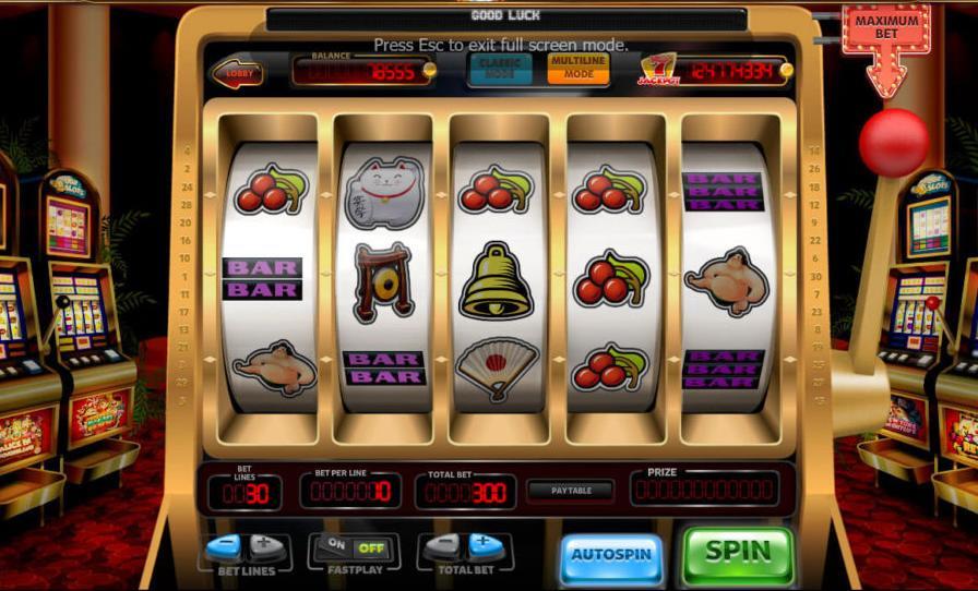 автоматы Вавада казино