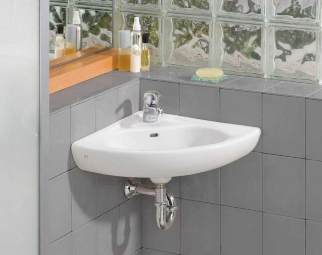 Угловые раковины для ванной: 101 фото идей оригинального дизайна